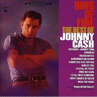Johnny Cash - importazione USA anello di fuoco-Best of [CD]