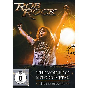 Rob Rock - röst av melodisk metall: bor i Atlanta [DVD] USA import