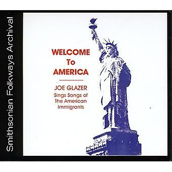 Joe Glazer - velkommen til Amerika-Joe Glazer synger sange af den en [CD] USA import