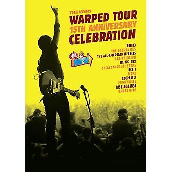 Warped Tour 15th jubilæum [DVD] USA import