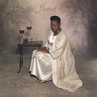 Priscilla Jones - seine Versprechen Christi hat Set Me Free [CD] USA import