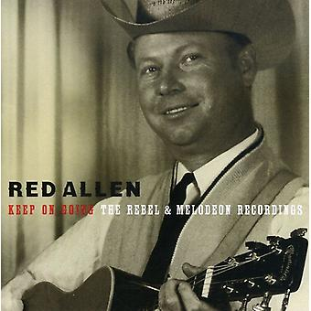 Rød Allen - Keep on Going: Rebel & tenorbanjo optagelser [CD] USA import