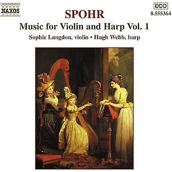 L. シュポア - シュポア: ヴァイオリンとハープのための音楽、Vol. 1 [CD] アメリカ インポートします。