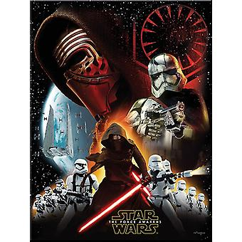 Star Wars kids party 120x180cm the force awakens children birthday tablecloth