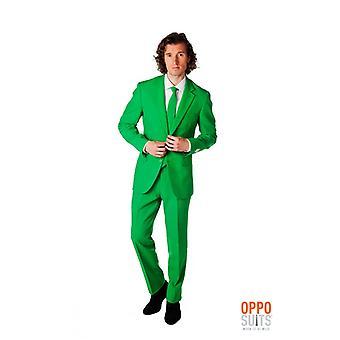 エバー グリーンのスーツ ミスター グリーン Opposuit スリムライン プレミアム 3 ワンピース EU サイズ