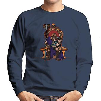 King Of Eternia He Man Masters Of The Universe Men's Sweatshirt