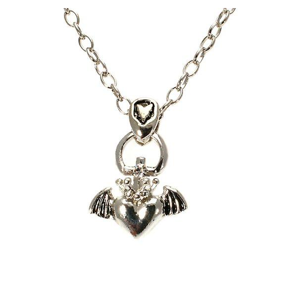 W.A.T Winged Heart Pendant Necklace
