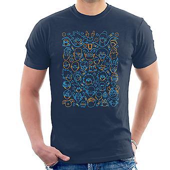 Dragon Ball Z postaci T-Shirt męski