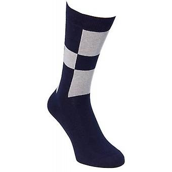 40 Colori Racing Socks - Navy/lys blå
