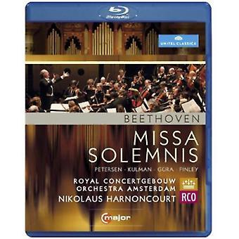 L.V. Beethoven - importación de los E.e.u.u. de la Missa Solemnis [BLU-RAY]
