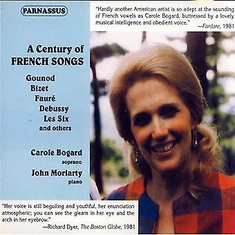 Carole Bogard - A århundrede af franske sange [CD] USA import