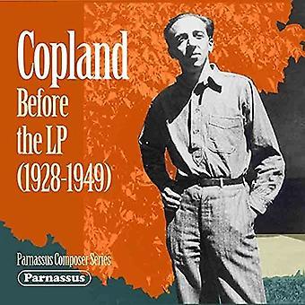 Aaron Copland - Copland før LP (1928-1949) [CD] USA Importer