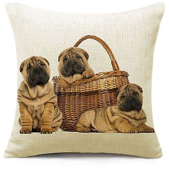 Superstudio Puppies Cushion Cover 45X45- (Home , Textile , Cushiones)