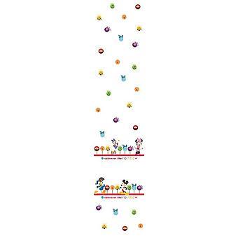 Disney Minnie & Freunde Kindergarten weiß Voile Vorhang