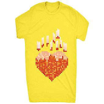 Renommierten Herz Pixel