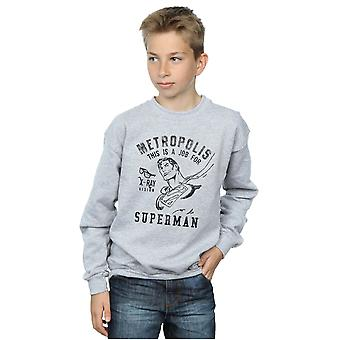 DC Comics pojkar Superman röntgen Sweatshirt