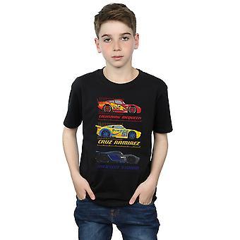 Disney мальчиков автомобили гонщик профиль футболку