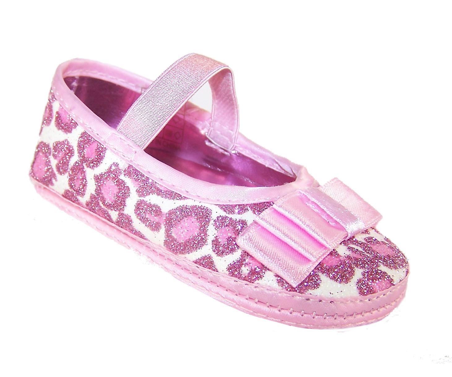 Baby Mädchen Rosa weiche Sohle Partei Schuhe