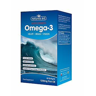 Le nature aiuto forza Super Omega 3, 60 Softgels