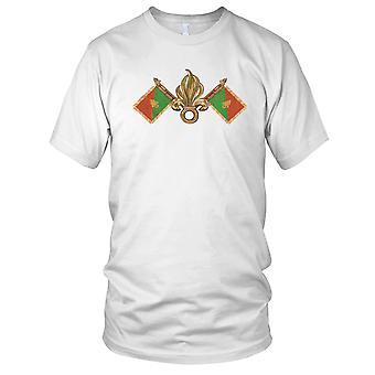 French Foreign Legion Flag Insignia Mens T Shirt
