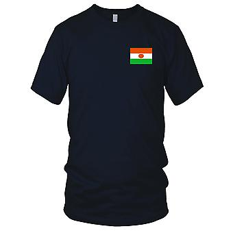 Niger Land Nationalflagge - Stickerei Logo - 100 % Baumwolle T-Shirt Kinder T Shirt