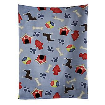 Dog House Collection Brindle Staffordshire Bull Terrier Kitchen Towel