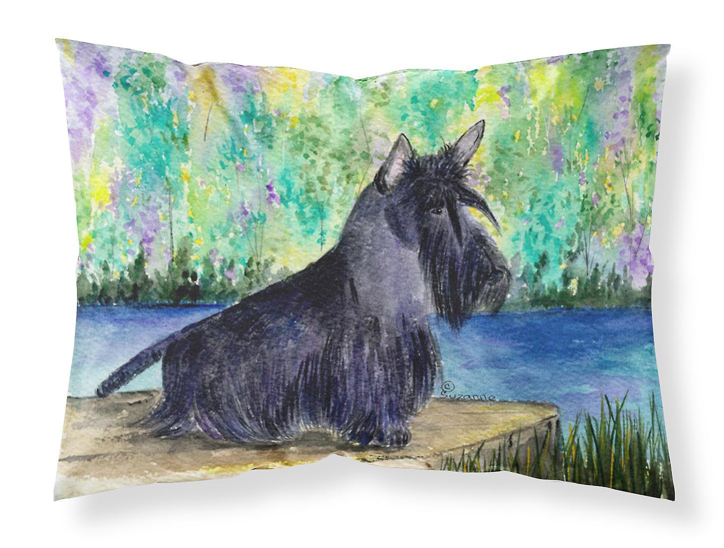 Scottish Taie Terrier Wicking Tissu D'oreiller Humidité Standard dxBorCe