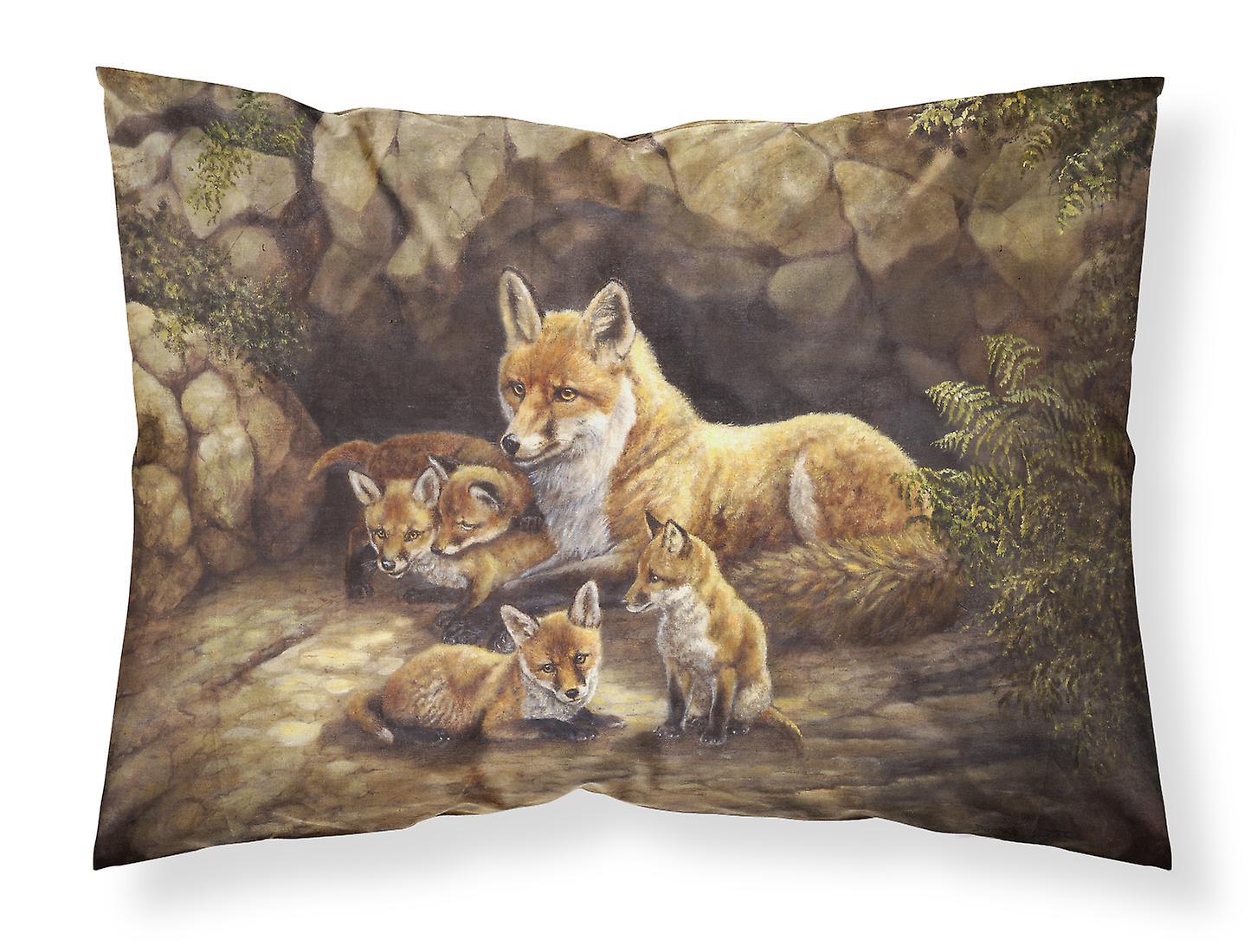 Tissu De Taie Famille D'oreiller Fox Standard Du Renards La Den rCodexBW