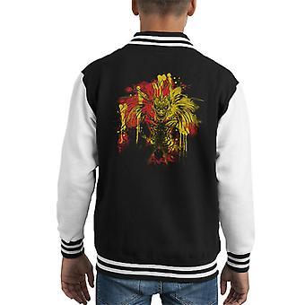Death God Ryuk Death Note Kid's Varsity Jacket