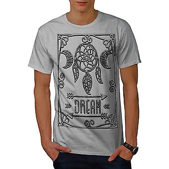 Ornement de GreyT-chemise homme de rêve   Wellcoda