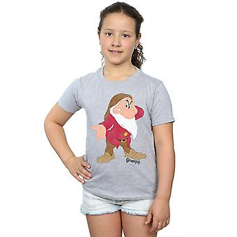 Disney Girls Snow White and the Seven Dwarves Classic Grumpy T-Shirt
