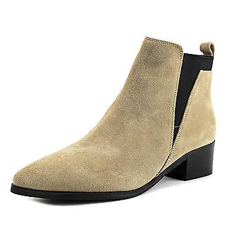Marc Fisher Womens Ignite Suede Pointed Toe Ankle Chelsea Boots