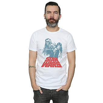Star Wars Men's Han Solo Chewie Duet T-Shirt