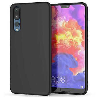 Huawei P20 Pro Matte TPU Gel - effen zwart