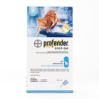 Profender  Spot-on for Medium Cats 5.5lbs to 11lbs (2.5-5 kg) Single Tube Pack