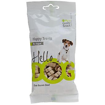 Agrobiothers Duo Bones Beef Hellodog (Dogs , Treats , Biscuits)