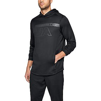 Under Armour Mens Mk1 Terry Graphic Lightweight Running Hoodie Sweater
