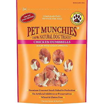 Pet Munchies Natural Dog Treats Chicken Dumbbells