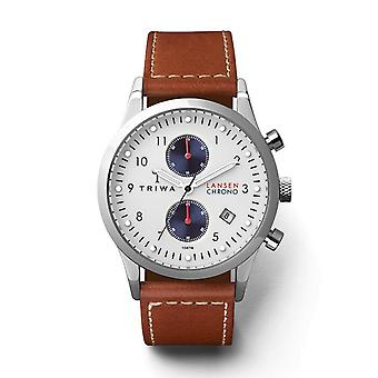 Triwa Unisex Watch wristwatch LCST113-SC010215 Duke Lansen Chrono leather