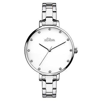 s.Oliver kvinners watch armbåndsur rustfritt stål SO-3457-MQ