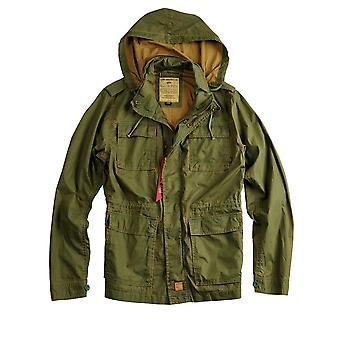 Alpha industries men's jacket trail