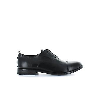 MOMA OXFORD BLACK LACE UP