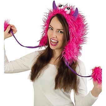 Plüschmütze Pink Ungeheuer Bestie