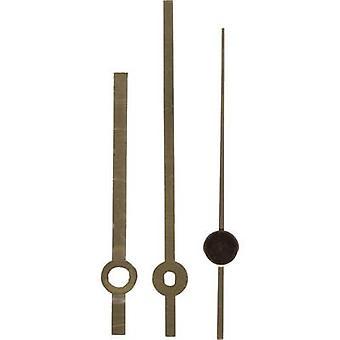 Clockhand set Polished/Standard Brass Brass Slot