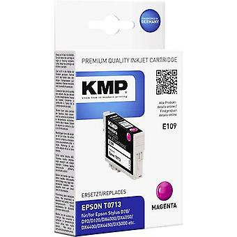 KMP Ink replaced Epson T0713 Compatible Magenta