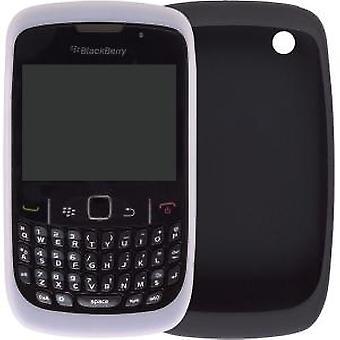 OEM BlackBerry 8500 8520 8530 9330 Skin Case - Black & White (2 Pack)