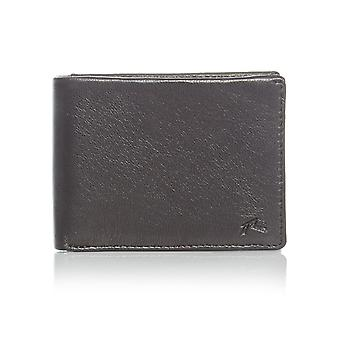 Rusty Black Ground Leather Wallet
