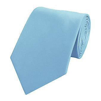 Knytte slipset slips slips 8cm lys blå Fabio Farini
