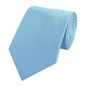 Nouer la cravate cravate cravate 8cm lumière bleu Fabio Farini