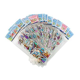 Frozen stickers in 3D-4 Sheets (about 48 PCs)
